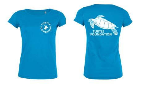 TF-Shirt Ladies Azur