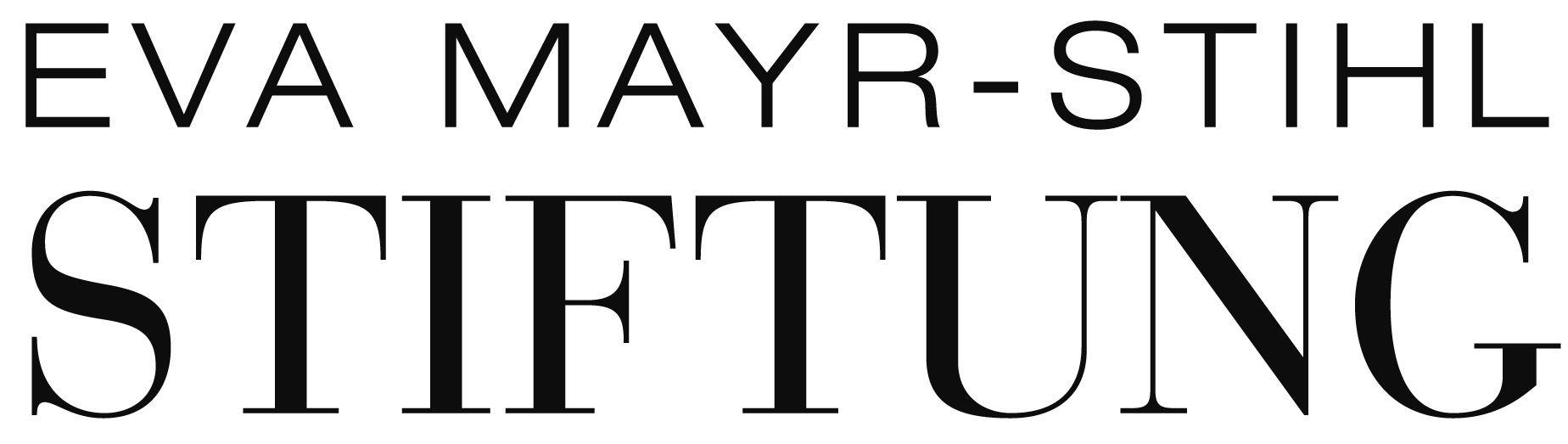 Logo Eva Mayr-Stihl Stiftung