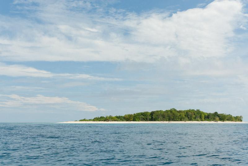 Island of Belambangan, Berau, Indonesia