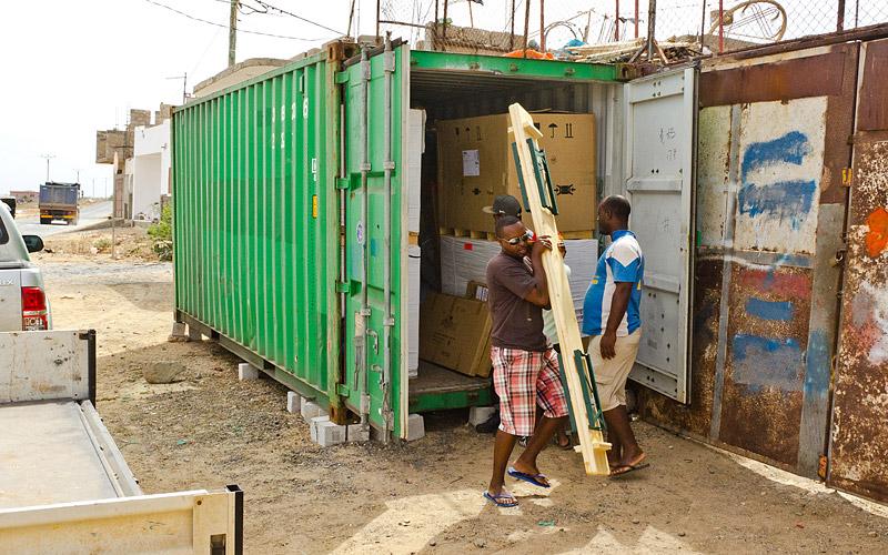 Container Boavista June 2017