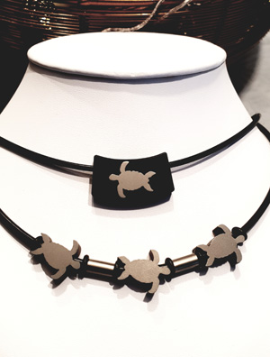 DiverDesign Turtle Collier
