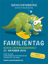 Senckenberg Family Day 21 October 2018