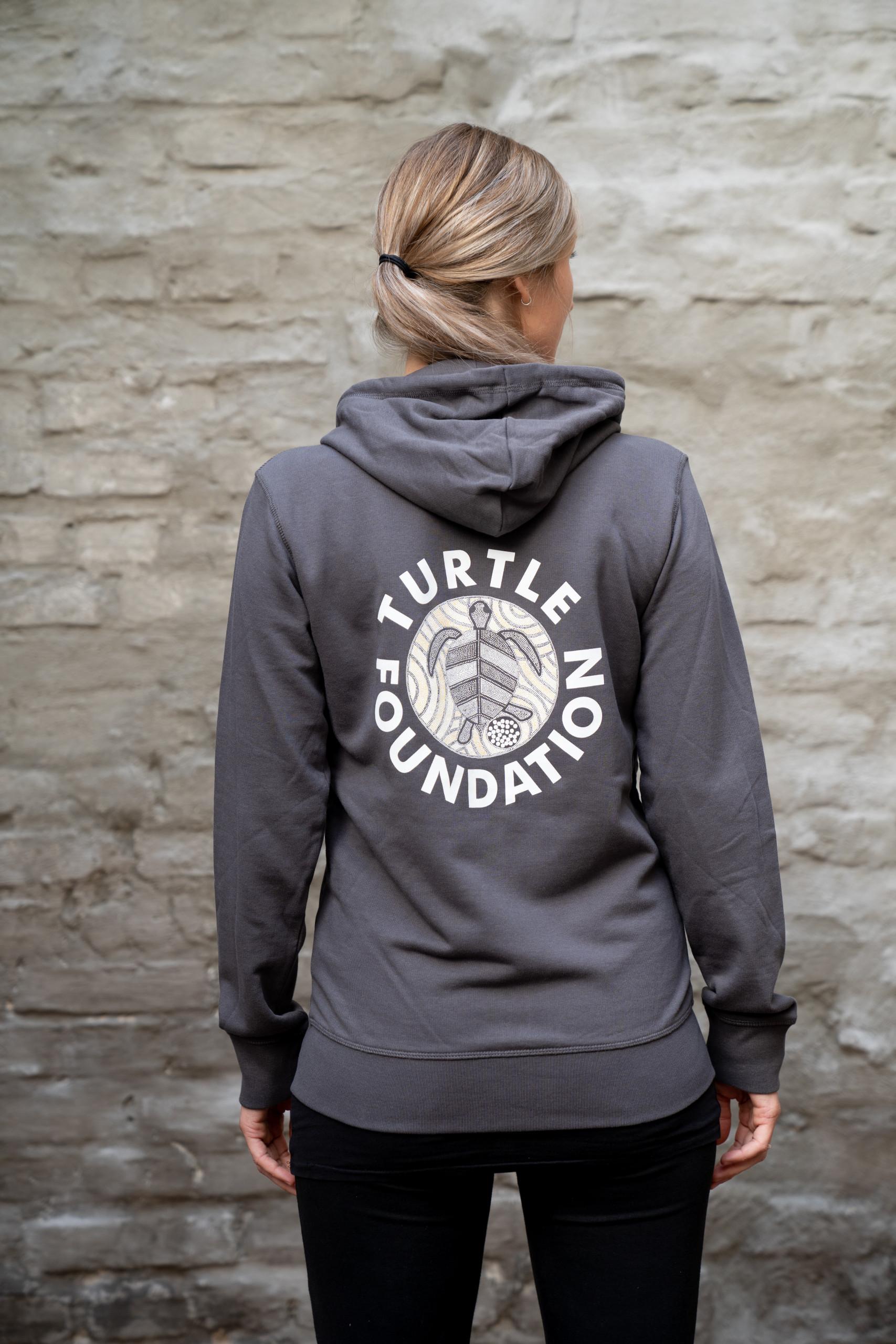 Turtle Foundation Shop Hoodie (hinten)