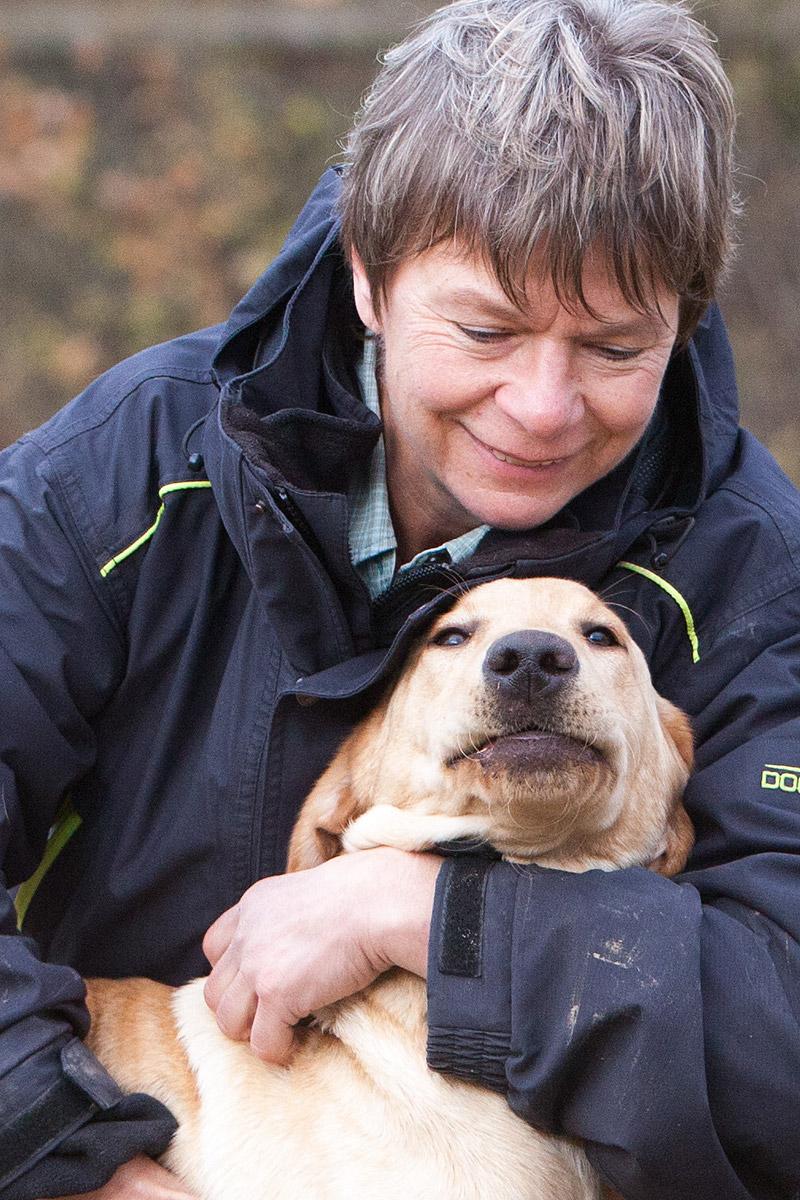 Dog trainer Marlene Zähner