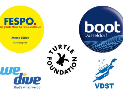 Turtle Foundation auf der Düsseldorfer Boot und auf der FESPO Zürich