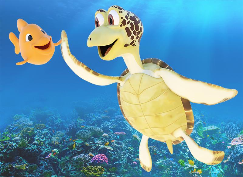 Turtle Foundation mascot Kimi