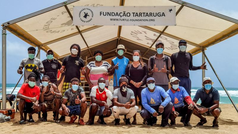Fundação Tartaruga Camp Buildup