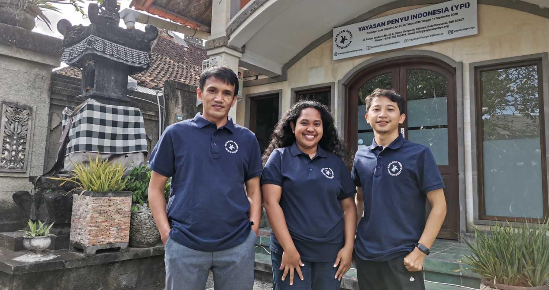 Yayasan Penyu Indonesia Team Bali