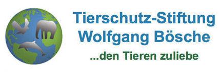 Logo Tierschutzstiftung Wolfgang Bösche