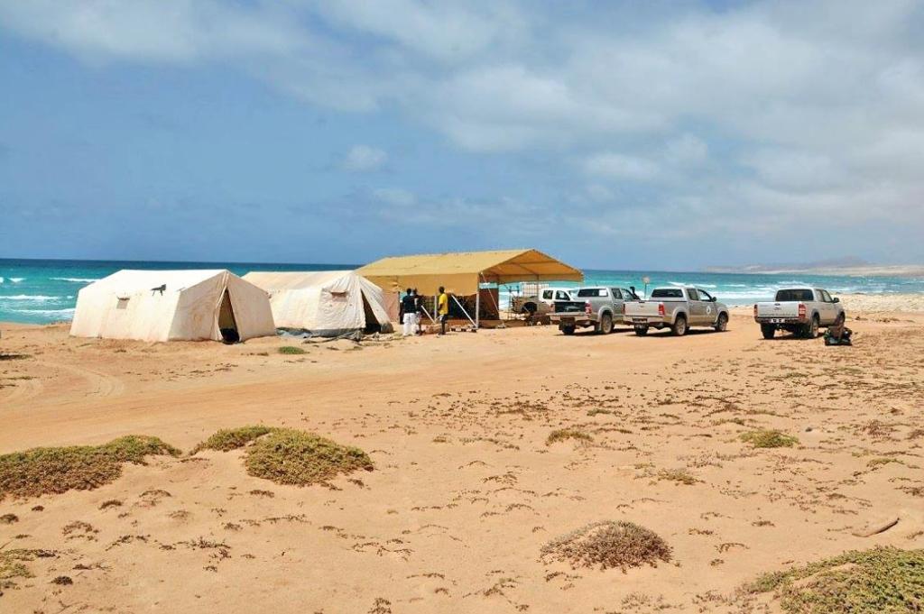 Boa Esperanca camp setup 2016
