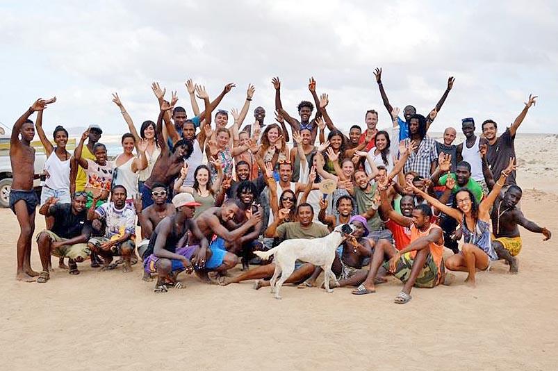 Fundacao Tartaruga staff and volunteers