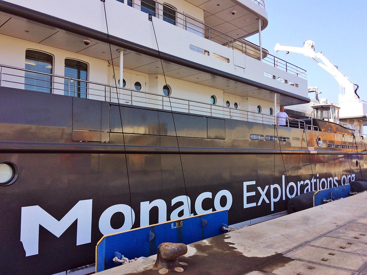 Prince Albert II from Monaco on Boavista, 22 September 2017