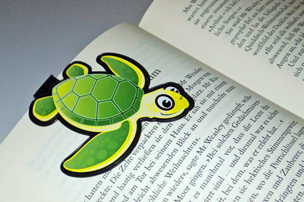 Turtle bookmark