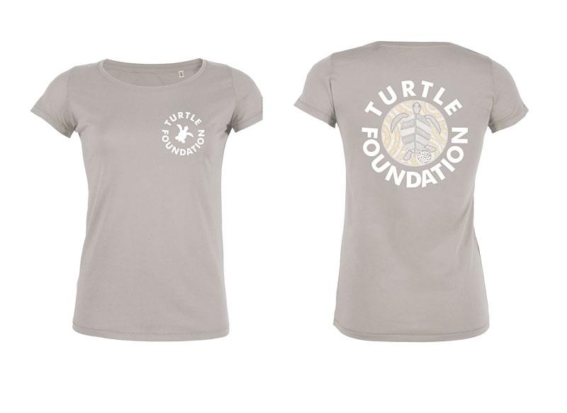 TF-Shirt Ladies Grey