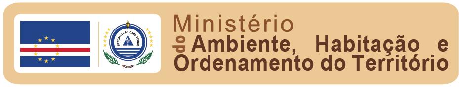 Logo Ministerio do Ambiente Cabo Verde